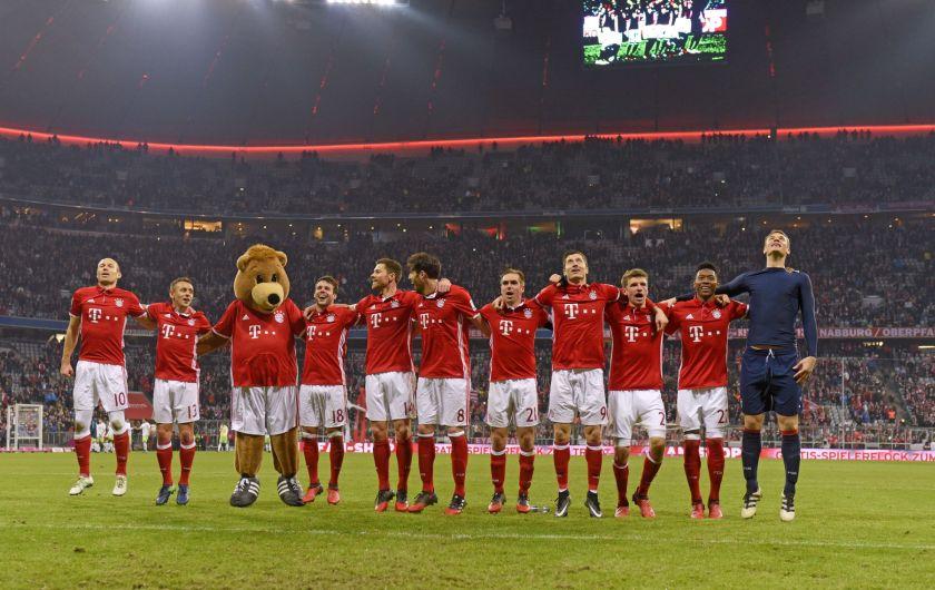 Ger FC Bayern Muenchen - VfL Wolfsburg Bundesliga football match
