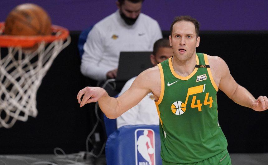 I forma i kvaliteta su stalne: Bogdanović je zabio 24 u pobjedi Jazza nad Spursima