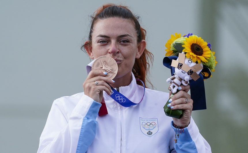Najmanja zemlja s medaljom: Alessandra Perilli osvojila je prvo olimpijsko odličje za San Marino